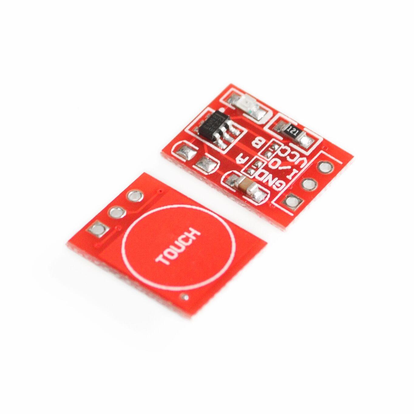 10 шт./лот Новый TTP223 модуль сенсорной кнопки конденсатор одноканальный самоблокирующийся сенсорный выключатель