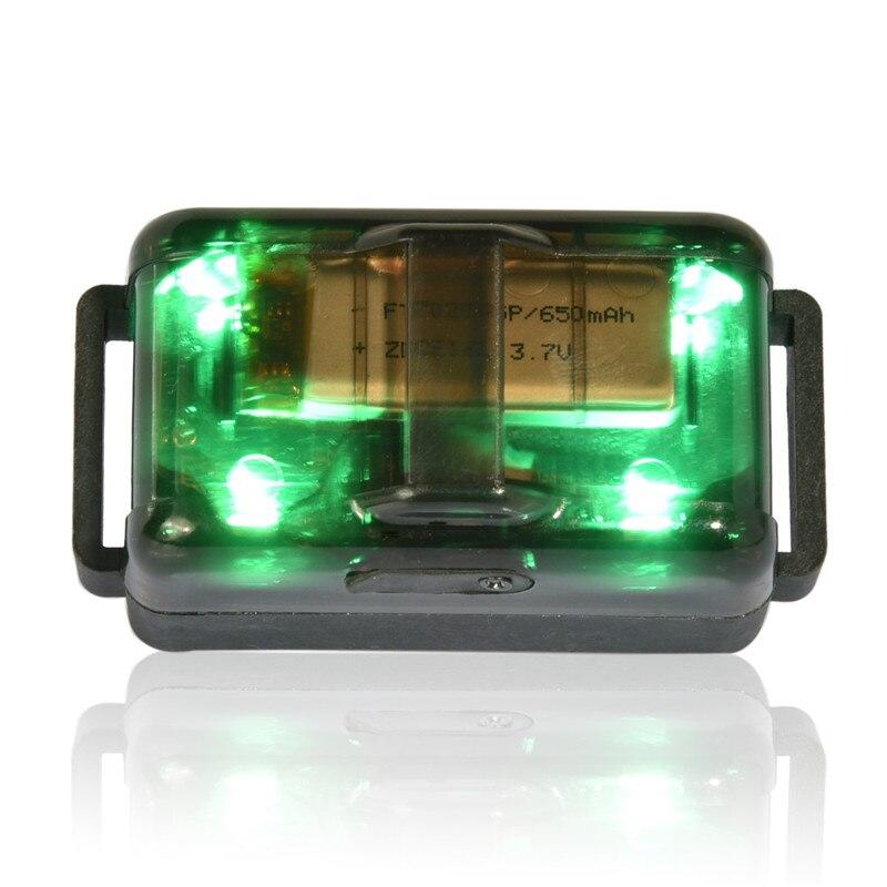 방수 및 재충전 용 2000M 개 목걸이 3 가지 빛으로 빛나는