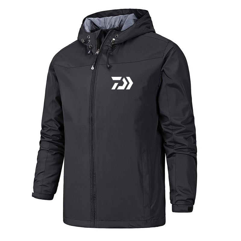 2019 DAIWA Man Hoodie Fishing Clothes Outdoor Fishing Breathable Long Sleeve Fishing Clothing Fishing Top DAWA Hooded Jacket