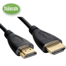 0.3M,1M,2M,3M,5M,7.5M10M High speed Gold Plated Plug Male-Male HDMI Cable 1.4 Version HD 1080P 3D for HDTV XBOX PS3