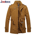 JOOBOX 2017 New trench coat men,thick mens overcoat,plus size winter jacket men,British Style trenchcoat brand clothing (FY-4G5)