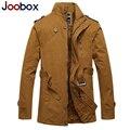 Joobox 2017 novos homens do revestimento de trincheira, grosso mens sobretudo, plus size jaqueta de inverno dos homens, estilo britânico trenchcoat roupas de marca (fy-4g5)