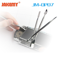 JAKEMY 3 In 1 Stainless Steel Metal Spudger Set Prying Opening Hand Repair Tool Kit For