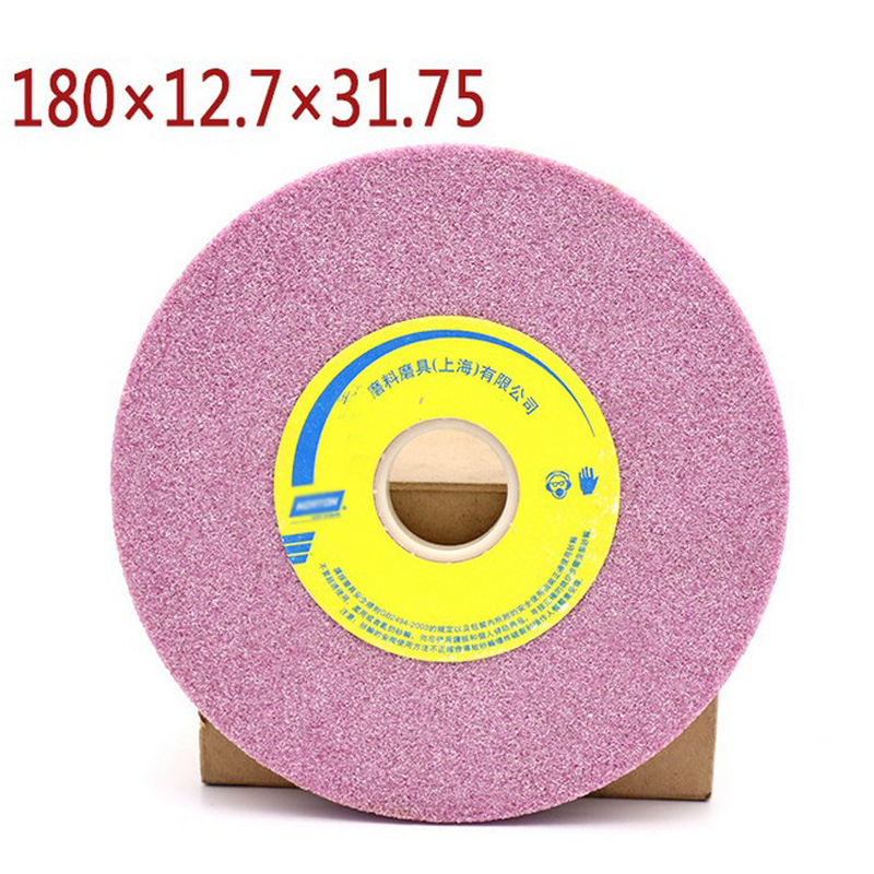 1pcs 80 Grit Grinding Wheel Abrasive Disc Polishing Stone Wheel For Bench Grinders Rotary Tool 180*12.7*32mm цена
