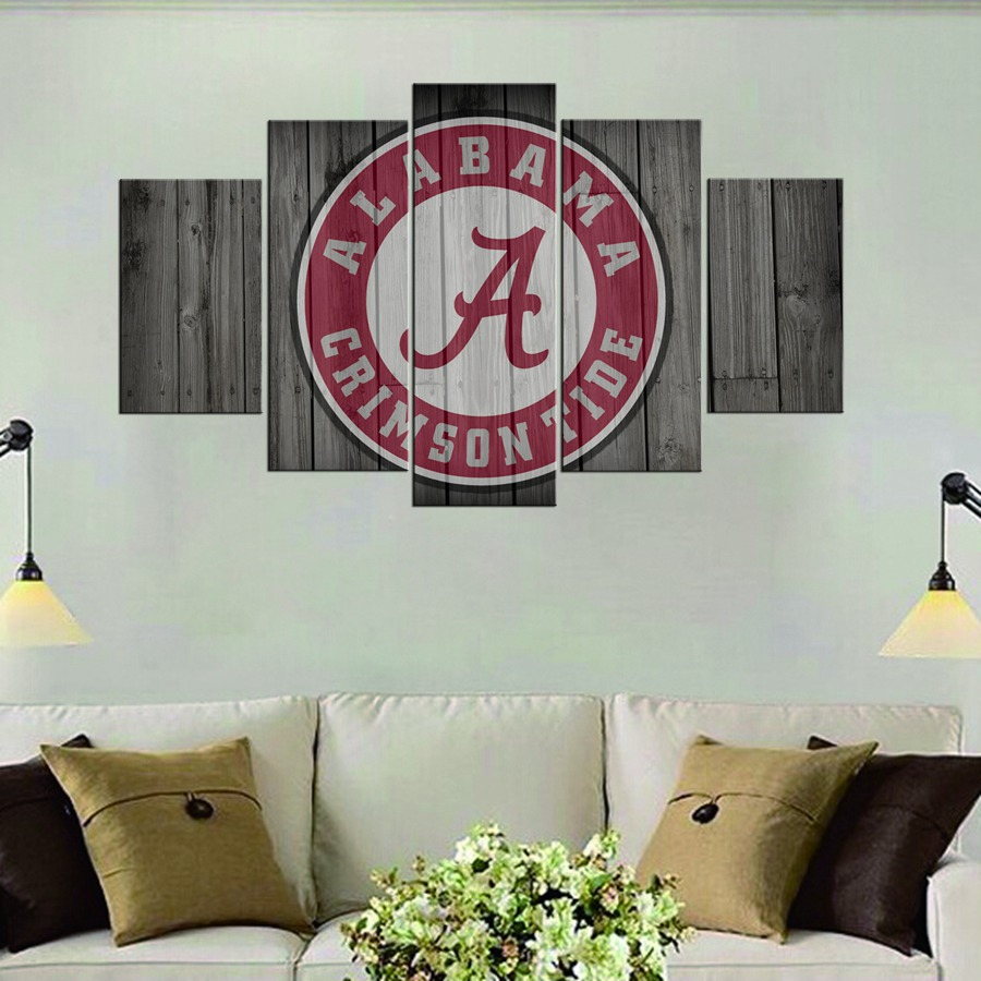 images wall decals sports product university of detailed college alabama decor