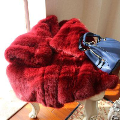 Mode Manteau 17s35 Gamme Fourrure Femmes Style Fausse De Haut Nouveau En qTUzIU