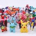 24 шт./компл. Покемон игрушки куклы Фигурки Игрушки Мультфильм Аниме Мини Pokemon Цифры