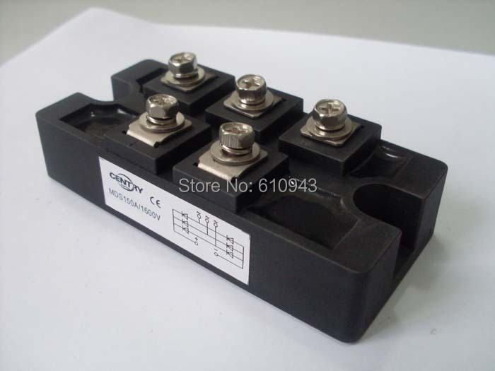 Free shipping MDS150A  DF150 SKD150 New original 100%Direct three-phase bridge rectifier bridge rectifier bridge factory direct brand new mds200a1600v mds200 16 three phase bridge rectifier modules