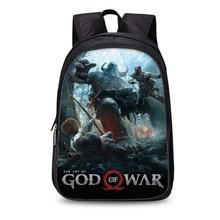 Игра God of War 4 Kratos 3d напечатаны детские школьные сумки для подростков мальчиков и девочек студентов рюкзак для повседневной носки Mochila Escolar