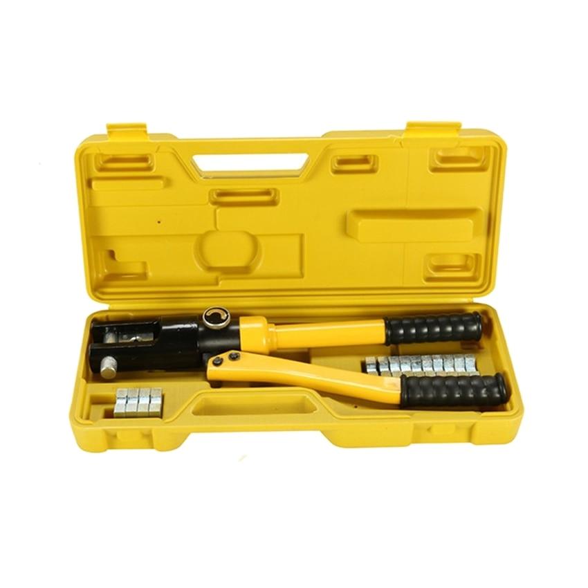 ФОТО Hydraulic Crimping Tool YQK-120 RANGE 10-120MM2 Compression Plier Hydraulic Crimping plier Hydraulic Plier 8T