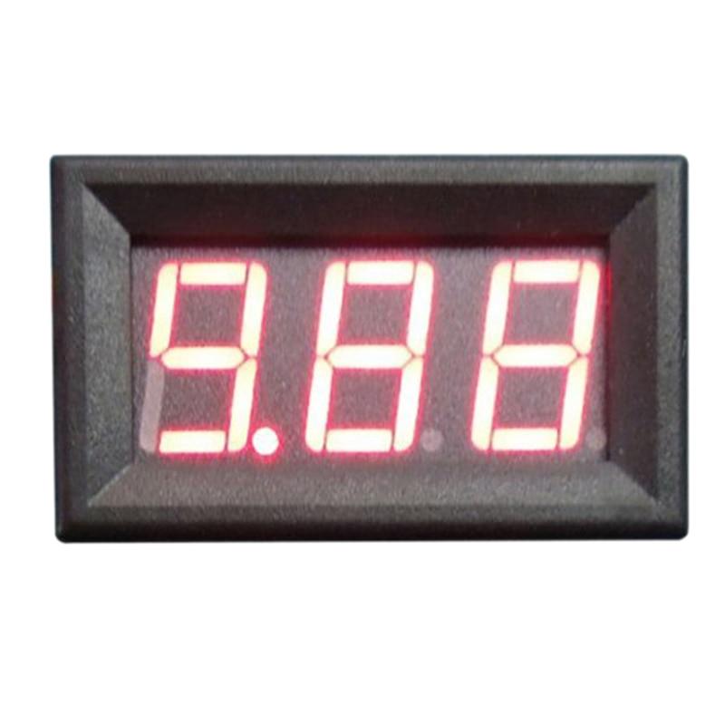 10pcs Digital Dc Ammeter 10A Red LED Panel Amp Meter Digital Electricity Meter dual red blue led digital voltmeter ammeter panel volt gauge meter