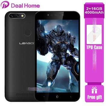 Купить LEAGOO POWER 2 PRO 4G LTE Mobile Phone 5.2 HD 2GB RAM 16GB ROM 4000mAh MTK6739 Quad Core Fingerprint  Android 8.1 Smartphone на Алиэкспресс