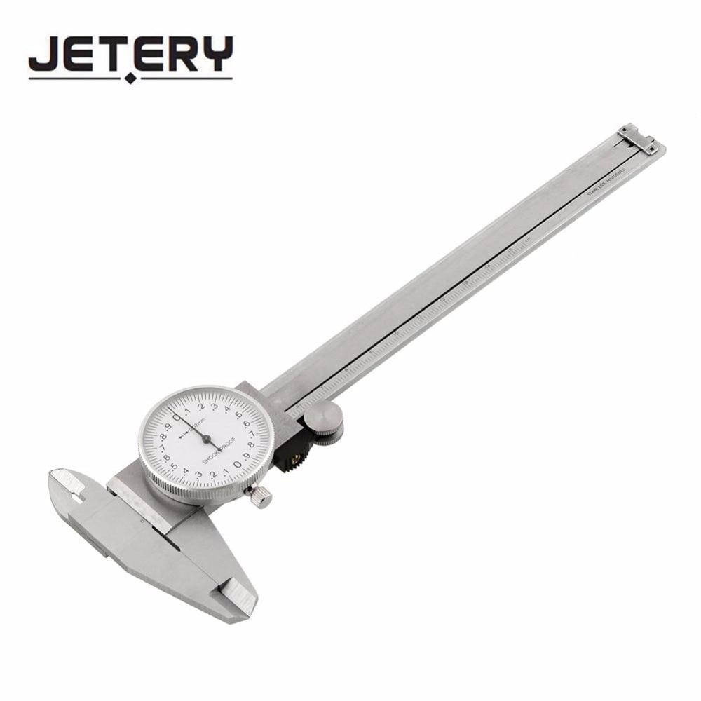 Jetery Dia 1.5'' Dial Caliper 0-150mm 0-6