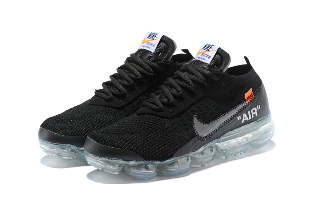 bda44fbc7df69 New Arrival Original NIKE Joint Knit Air Men s Running Sneakers OFF-WHITE X  NIKE Air Vapor Max Sport Outdoor Shoes 40-45