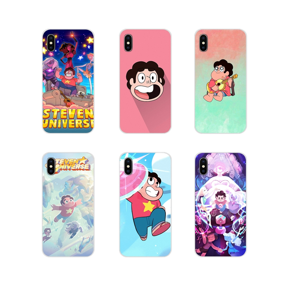 Crystal Gems Steven Universe For Motorola Moto X4 E4 E5 G5 G5S G6 Z Z2 Z3 G G2 G3 C Play Plus Accessories Phone Cases Covers