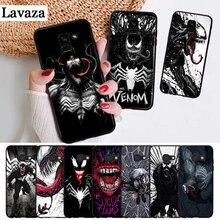 Lavaza Marvel Venom Villain Silicone Case for Samsung A3 A5 A6 Plus A7 A8 A9 A10 A30 A40 A50 A70 J6 A10S A30S A50S