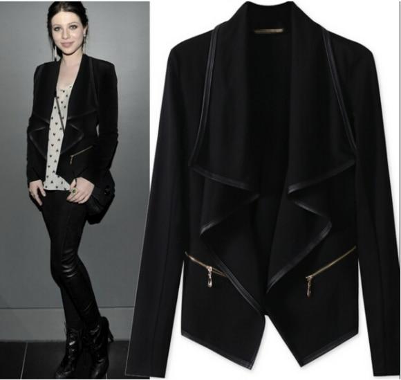 Mode En Femmes 3s24046 Outwear Cuir Livraison Pu Gratuite Veste Fermetures Manteau Hiver À Ouatée Glissière 7C5SOTYSwq