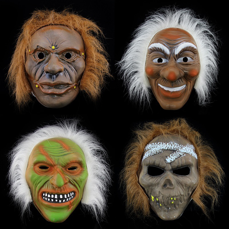 Halloween Horror Masquerade Adult Ghost/Savage/Skull Scar Mask Variety Of PVC Mask