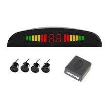 Parking Sensor Kit Number & Color LED Display Universal For All Cars Parking Assistance Reversing Radar Rear View Alarm System
