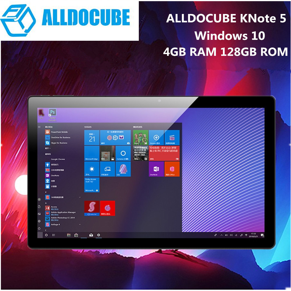 ALLDOCUBE KNote5 Tablette PC 11.6 pouce Windows 10 Intel Gemini Lac N4000 Quad Core 2.4 ghz 4 gb RAM 64 gb WiFi Double Caméra Frontale