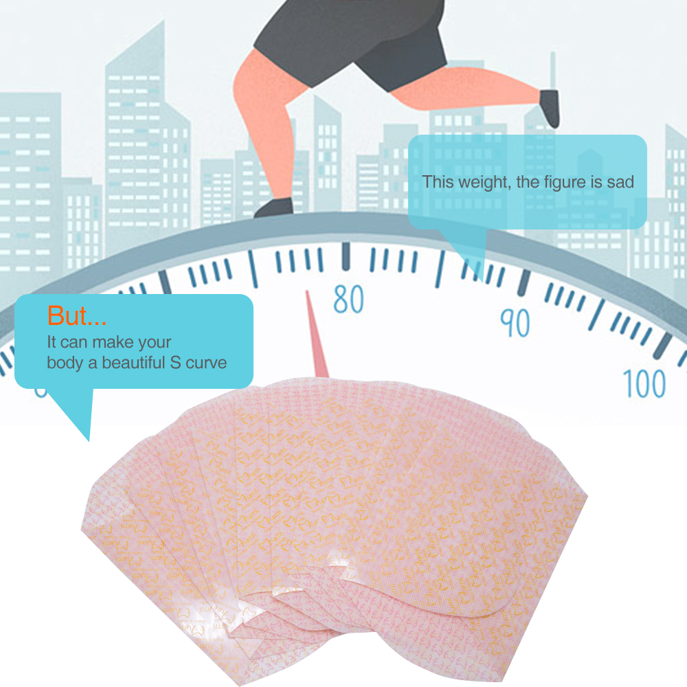 20 pcs/Box Slimming Patch Belly Abdomen Weight Loss Fat Burning Slim Patch Natural Ingredients Reduce Weight Sticker K02702 3