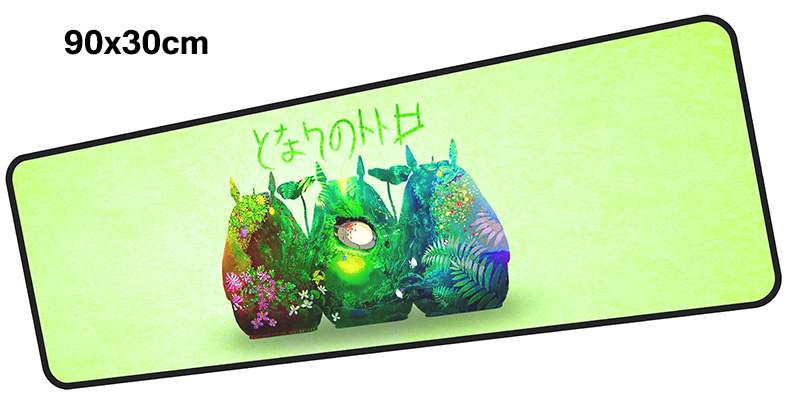 Totoro mousepad gamer 900x300X3MM gaming mouse pad large Boy Gift notebook pc accessories laptop padmouse ergonomic mat