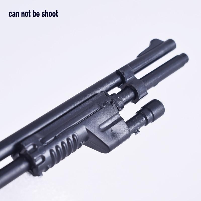"""1/6 Escala Militar 4d Modelo De Pistola De Juguete Soldado Accesorios Arma Benelli M1 Super 90 Máquina De Rifles De Francotirador F12"""" Figuras De Acción"""
