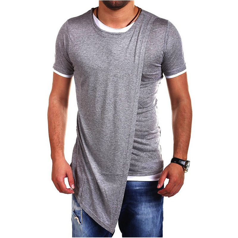 2016 new men cotton shirts street wear patchwork dress for Tailored shirts for men