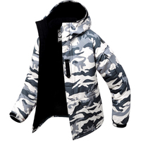 Premium Edition Clothes Southplay Winter Waterproof Skiing Snowboard Jacket   White Military