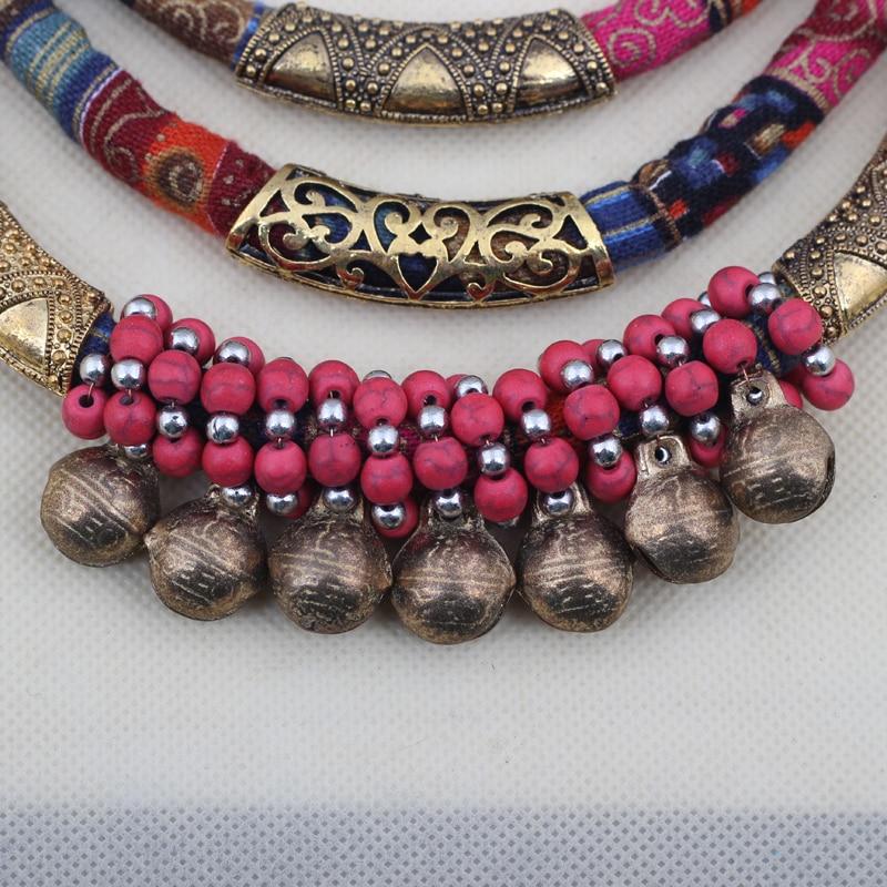 Bonsny Jewelry Set For Girls Woman Yarn Cloth Fabric Choker Colalr ...