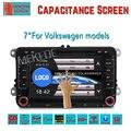 Емкостный Экран! два Дин 7 Дюймов Dvd-плеер Автомобиля Для Seat/Altea/Leon/Toledo/VW/Skoda Wi-Fi 3 Г Хост Радио GPS Bt 1080 P Ipod Карта