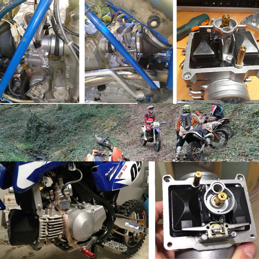 ZSDTRP moteur 4T 33 34 35 36 38 40 42mm PWK Keihin | Carburateur à moteur tout-terrain, Scooter Motocross avec bonne puissance TRX250R