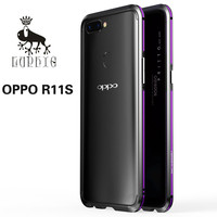For OPPO R11S Case High Quality Luxury Original Brand LUPHIE Aluminum Metal Bumper Column Shape Mixed