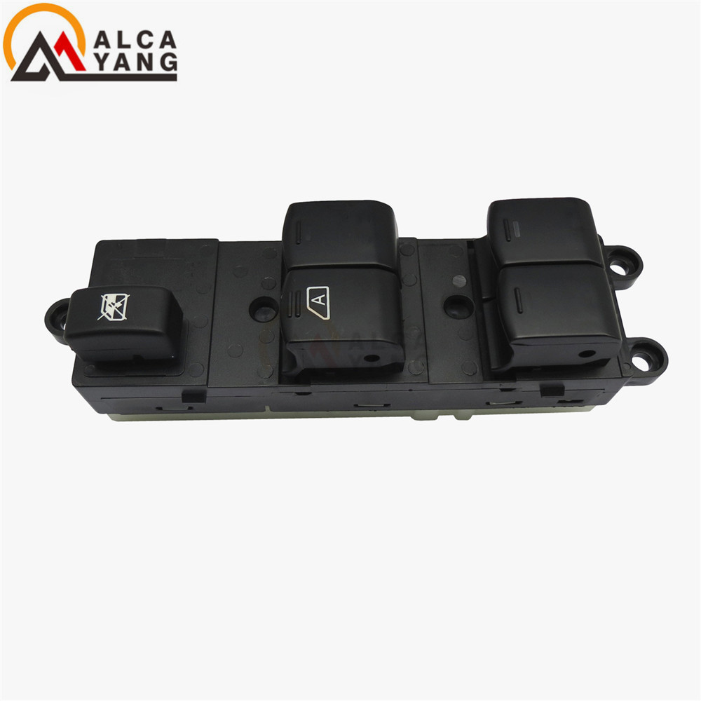 Master Electric Power Window Lifter Switch For Nissan Qashqai J10 2.0 dCi 4WD Navara D40 Vehicles Car QZ 25401JD001 25401BB60B-in Car Switches & Relays from Automobiles & Motorcycles