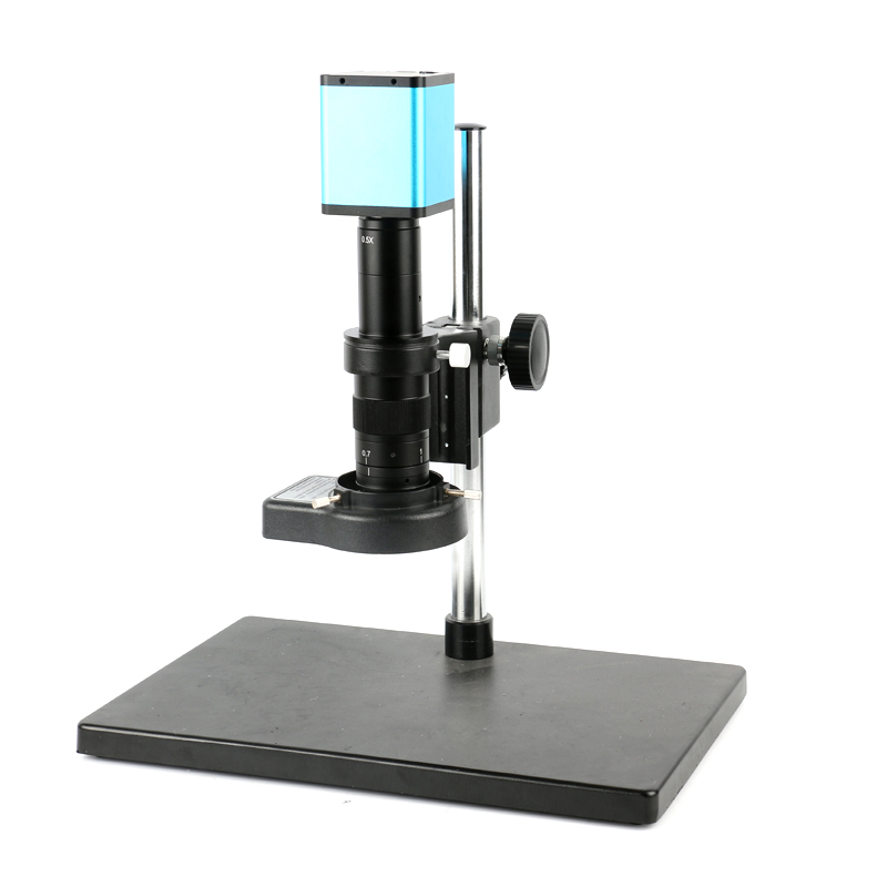 1080P 60FPS SONY SENSOR <font><b>IMX290</b></font> HDMI <font><b>USB</b></font> Digital Mouse control Microscope Camera + 180X 300X Zoom Lens for Smartphone PCB Repair image