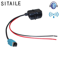 SITAILE Car Bluetooth Wireless Module Aux Cable Adapter with Filter for Alpine Radio Stereo Audio Input CDE 101E 102E 237BT