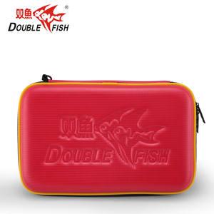 ping de a mesa 2 de caja de raquetas para bolsa de prueba bolas pong pescado tenis de agua de Doble RWASwUxqvw