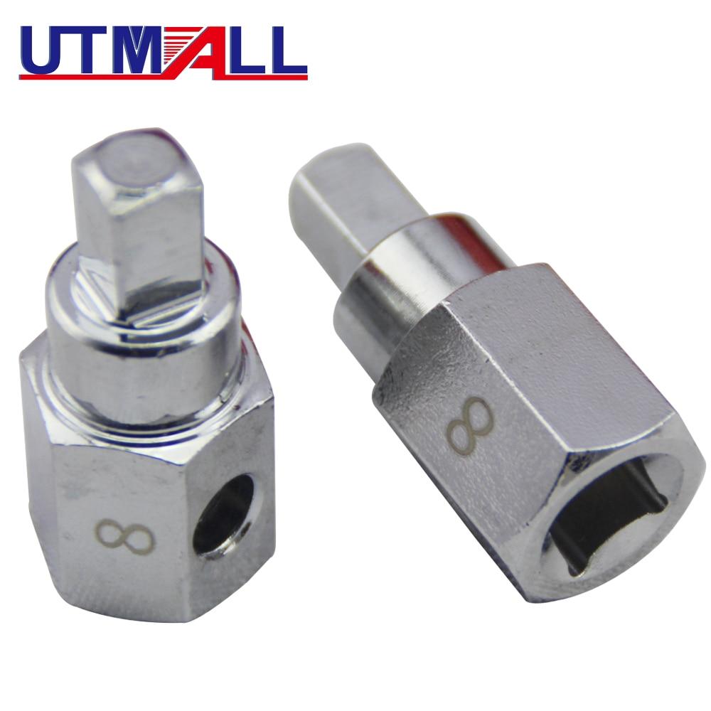 Top 8mm Square Oil Sump Drain Plug Key Tool Remover For Renault Citroen Peugeot