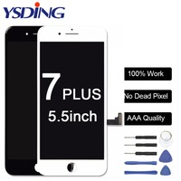 Grade AAA Quality No Dead Pixel LCD Replacement For IPhone 7 Plus LCD Display With Touch