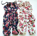 2016 New Toddler Girls Kids Summer Soft Jumpsuit Playsuit Clothing One-piece 2-8Y