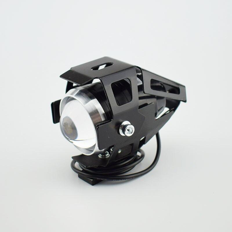 Huiermeimi 1PCS 12V-80V 125W U5 LED head Light spotlights Motorcycle headlight Moto Spot Light chrome projector Fog lights lamp