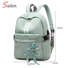 Waterproof Oxford Backpack School Bags for Teenagers Girls Bolsas Mochilas Escolares Femininas Rucksacks Unisex Backpacks Chains цена