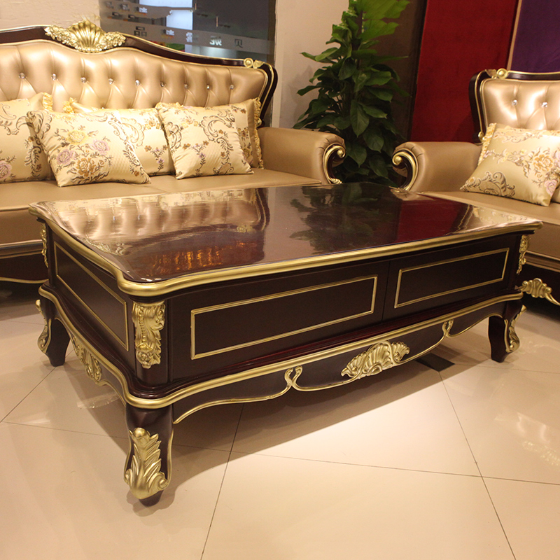 European Style Coffee Table A Few Wind Long Sofa Small Apartment Living Room Simple Tea Combination Of Solid Wood French Teasid Wood Coffee Table Table Wood Carvingtable Shirt Aliexpress