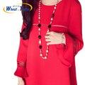 2016 verão quente venda de boa qualidade algodão maternidade dress new arrival trumpet mangas plus size roupas de verão para as mulheres grávidas