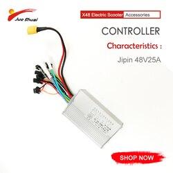 48V 25A elektryczny kontroler skuterów 500W e-bike akcesoria bezszczotkowy wyświetlacz prędkości System LCD Bicicleta kontroler Ebike Kit