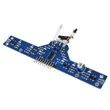 Eletrônica inteligente Cinco Estrada Rastreamento Rastreamento Módulo Sensor de Rastreamento TCRT5000 Módulo 5 Funções para Enviar Rotinas