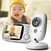 Baby Care 3.2 inch Wireless Video High Resolution Baby Nanny Security Camera Night Vision Baby Sleeping Monitor Temperature