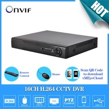 AHD-L TEATE Inicio Vigilancia 16ch completa 960 H de seguridad CCTV DVR grabador HDMI 1080 P AHD DVR 16ch NVR Onvif IP cámara