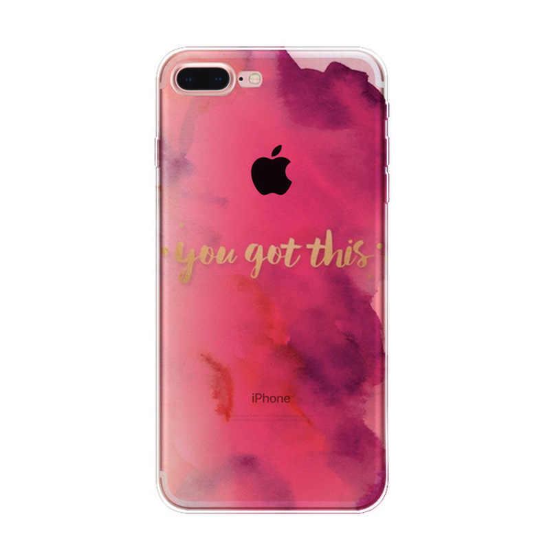 Cukierkowy kolor TPU krzemu skrzynka dla iPhone 7 7 Plus miękka tylna ochrona pokrywy skrzynka dla Apple iPhone 8 6 6 S plus etui na telefon