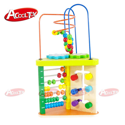 Wooden Abacus Toys Brinquedos High Quality Around Bead Maze Jouet Enfant Cute Wooden Geometric Shapes Toys for Children Toys 13 column abacus soroban japanese abacus wooden frame and beads wooden abacus chinese calculator with beautiful box